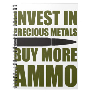 Buy more Ammo, invest in Metal Spiral Notebook