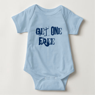 Buy One Get One Free- Twins (boys) Baby Bodysuit