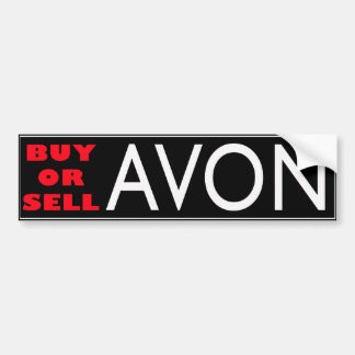 BUY or SELL AVON Bumper Sticker
