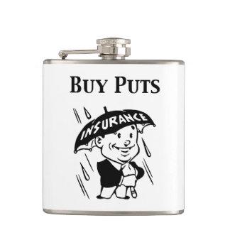 Buy Puts Hip Flask