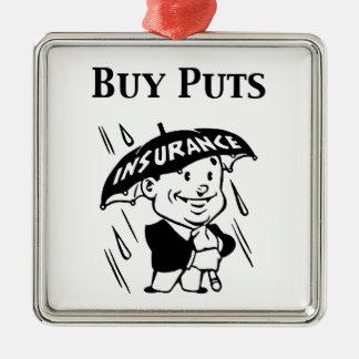 Buy Puts Metal Ornament
