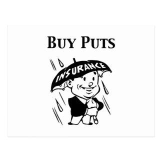 Buy Puts Postcard