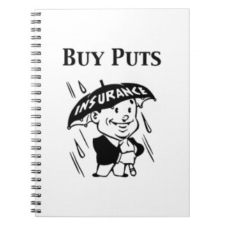 Buy Puts Spiral Notebook