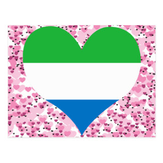 Buy Sierra Leone Flag Postcard