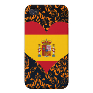 Buy Spain Flag Cases For iPhone 4