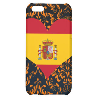 Buy Spain Flag Cover For iPhone 5C