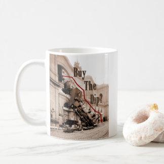 Buy The Dip Stock Market Humor Coffee Mug