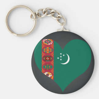 Buy Turkmenistan Flag Keychains