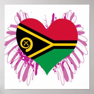 Buy Vanuatu Flag Poster