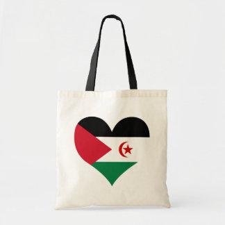 Buy Western Sahara Flag Canvas Bags