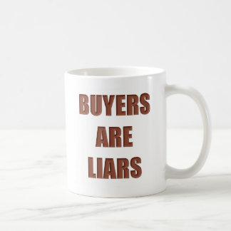 Buyers are Liars Basic White Mug