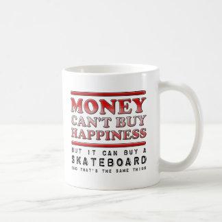 Buying Happiness Fishing Rod Funny Mug