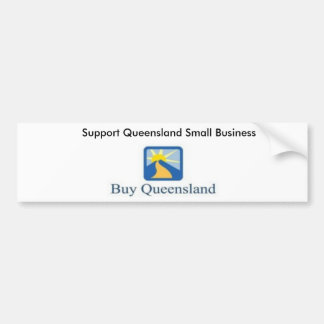buyqld170x81, Support Queensland Small Business Bumper Sticker