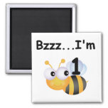 Buzz Bumblebee 1st Birthday T-shirts and Gifts Magnets