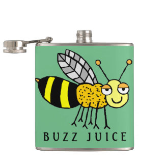 Buzz Juice Hip Flask