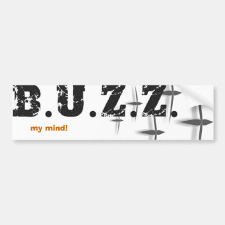 buzz logo2 bumper sticker