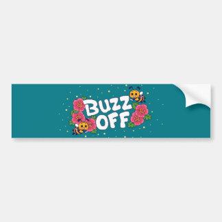 Buzz Off Bumper Sticker
