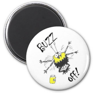 Buzz Off! Magnet