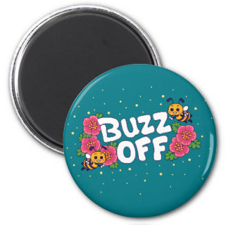 Buzz Off Magnet