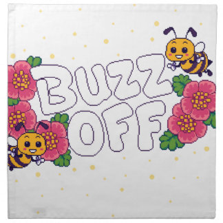Buzz Off Napkin