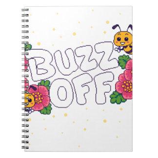 Buzz Off Notebook