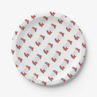 Buzz Off Paper Plate