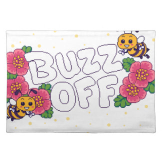 Buzz Off Placemat