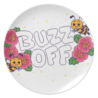 Buzz Off Plate
