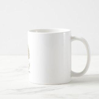 Buzzard Perching Navy Anchor Cartoon Coffee Mug