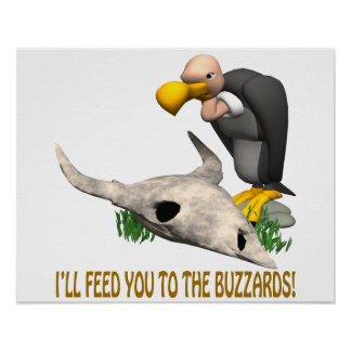 Buzzards Print