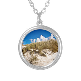 Buzzer sand Dune OF Denmark Silver Plated Necklace