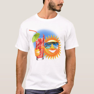 Buzzer Sun smiley T-Shirt