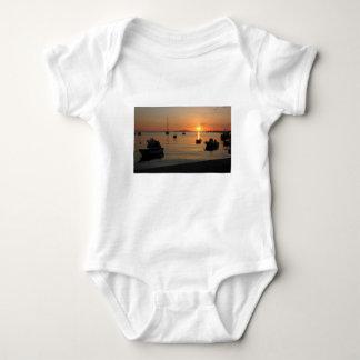 Buzzer Sunset in Novalja in Croatia Baby Bodysuit