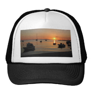 Buzzer Sunset in Novalja in Croatia Cap