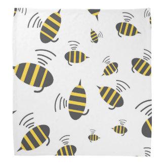 Buzzing Bumble Bee Cartoon Bandana