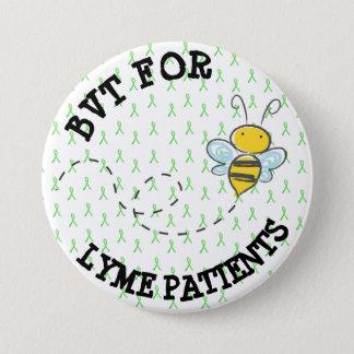 BVT for Lyme Patients 7.5 Cm Round Badge