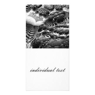 BW Abstract Fantasy Photo Card
