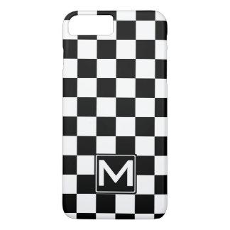 BW Checkered Monogram iPhone 7 Plus Case