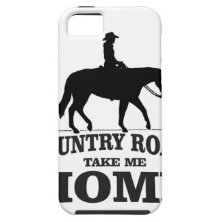 bw country roads take me home iPhone 5 covers