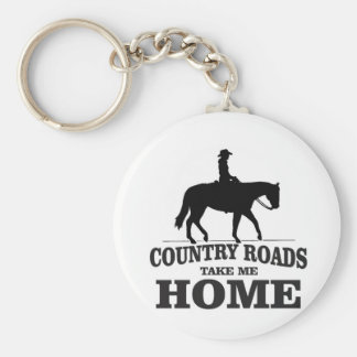 bw country roads take me home key ring