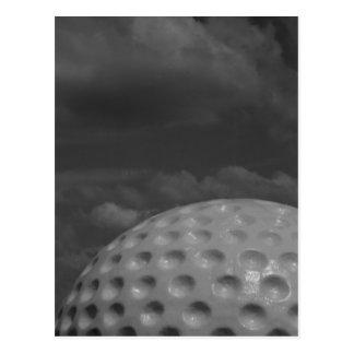 bw golf heaven postcard