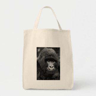 BW Gorilla Face