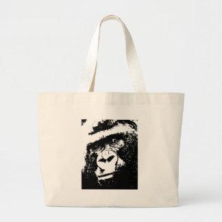 BW Gorilla Face Jumbo Tote Bag