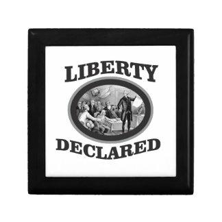 bW liberty declared Gift Box