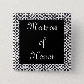 BW Matron 15 Cm Square Badge