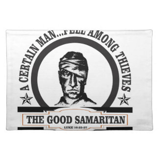 bw samaritan art placemat