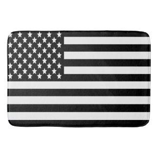 BW US Flag Bath Mats