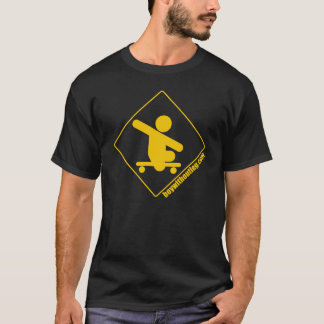 BWOL logo - yellow on black T-Shirt