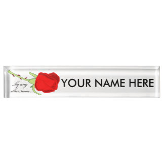 By Any Other Name Name Plate