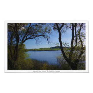 """By Bold Blue Waters,"" Nature Photo Print"